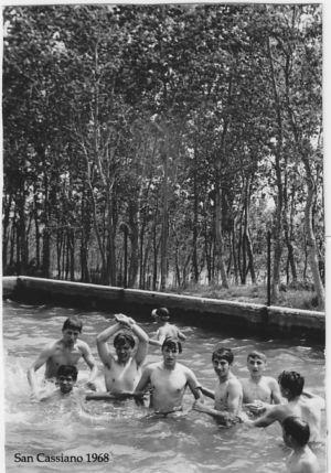Camposcuolai San Cassiano 1968 - Gruppo Piscina