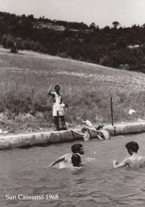 Camposcuolai San Cassiano 1968 - Piscina