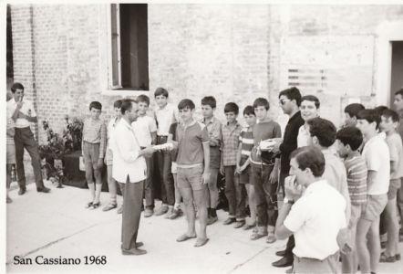 Camposcuolai San Cassiano 1968 - Premiazione
