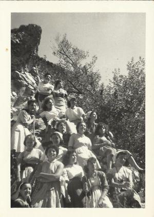 Estate 1957- Agnorella (campeggio)