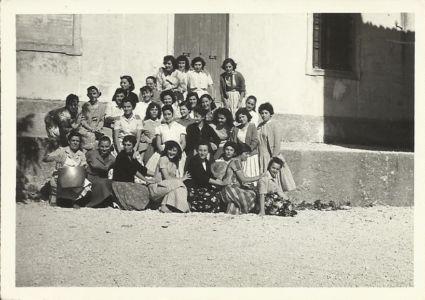 Estate 1957- Gruppo Femminile AC Villa Allegra Poggio S Romualdo