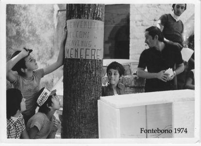 Fontebono 1974 - Don Gabriele Cagli-Pergola