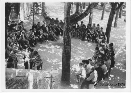 Fontebono 1974 - Luogo Sit In