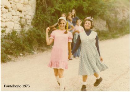 Fontebono Femmine 1973 - Betta Lep E MRita Tulli