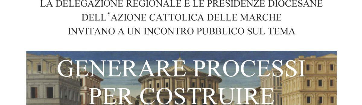 """incontro pubblico: """" Generare processi per costruire il Bene Comune"""""""