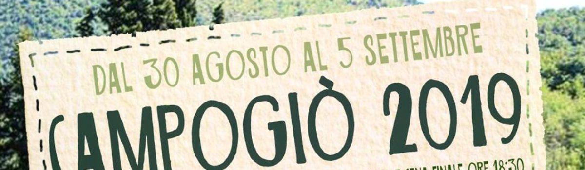 Campogiò 2019, per ragazzi dai 14 ai 18 anni